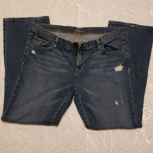 Old Navy The Diva Distressed Jeans